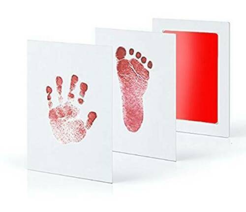 Footprint Non-toxic Newborn Safe Mess Free Stamp Infant Inkless Ink Pad For Baby