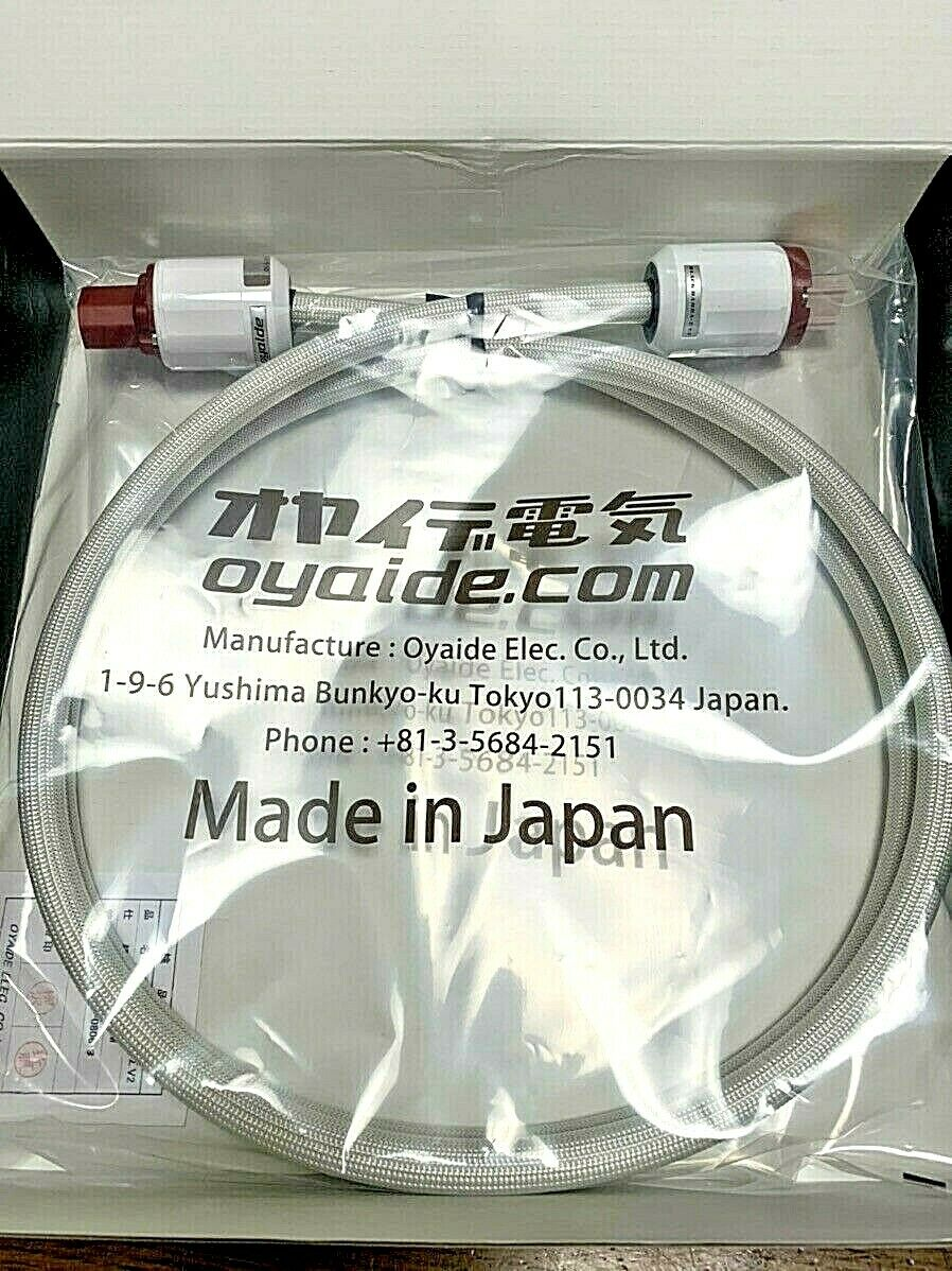 Oyaide BLACK MAMBA Sigma V2 Audio Power Cable 1.8m High Quality JAPAN NEW F//S