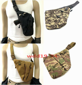 Mens-Invisible-Anti-theft-Gun-Holster-Pouch-Bag-Pack-Chest-Sling-Crossbody-Bag