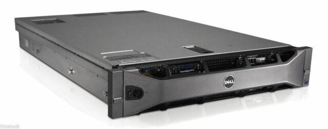 "Dell PowerEdge R710 CTO Configure-To-Order 2U Server 6x 3.5"" H700 RAID 2x PSU"