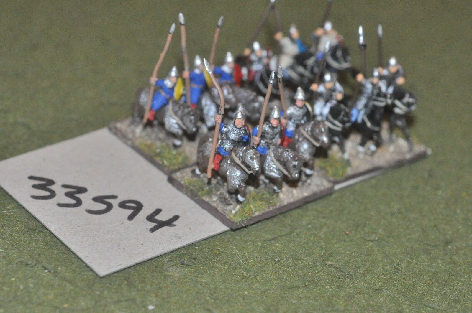 15mm dark ages   turkish - heavy 12 figures - cav (33594)