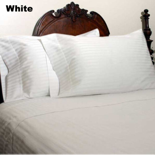Queen Size All Striped Color 1000TC 100/%Egyptian Cotton Luxury Bedding Items