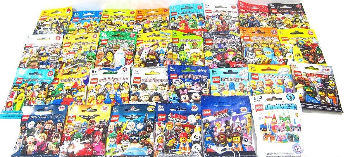 Lego LOTTO 20 autobusTINE di Minicifras da Collezione  8683 8803 8804 8805 71001  miglior prezzo