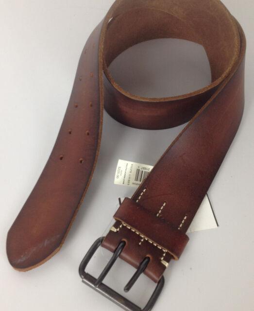 Polo Ralph Lauren Mens Belt Brown 32 Wide Leather