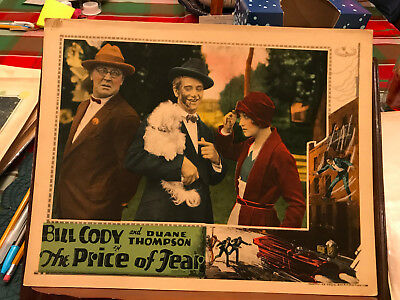 The Price Of Fear 1928 Universal silent 11x14