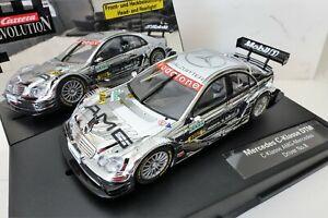 Brillant Carrera Evolution 25755 C-klasse Amg-mercedes Dtm #8 Alesi 1/32 Entièrement Neuf Dans Sa Boîte-afficher Le Titre D'origine Handicap Structurel