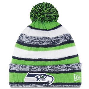2135bf83389 BRAND NEW Seattle Seahawks Knit Beanie with Pom Pom - NFL - UNISEX ...