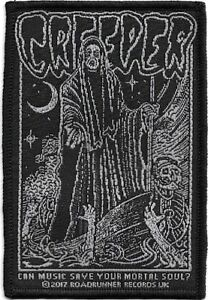 Official-Licensed-Merch-Woven-Sew-on-PATCH-Heavy-Metal-Rock-CREEPER-Mortal-Soul