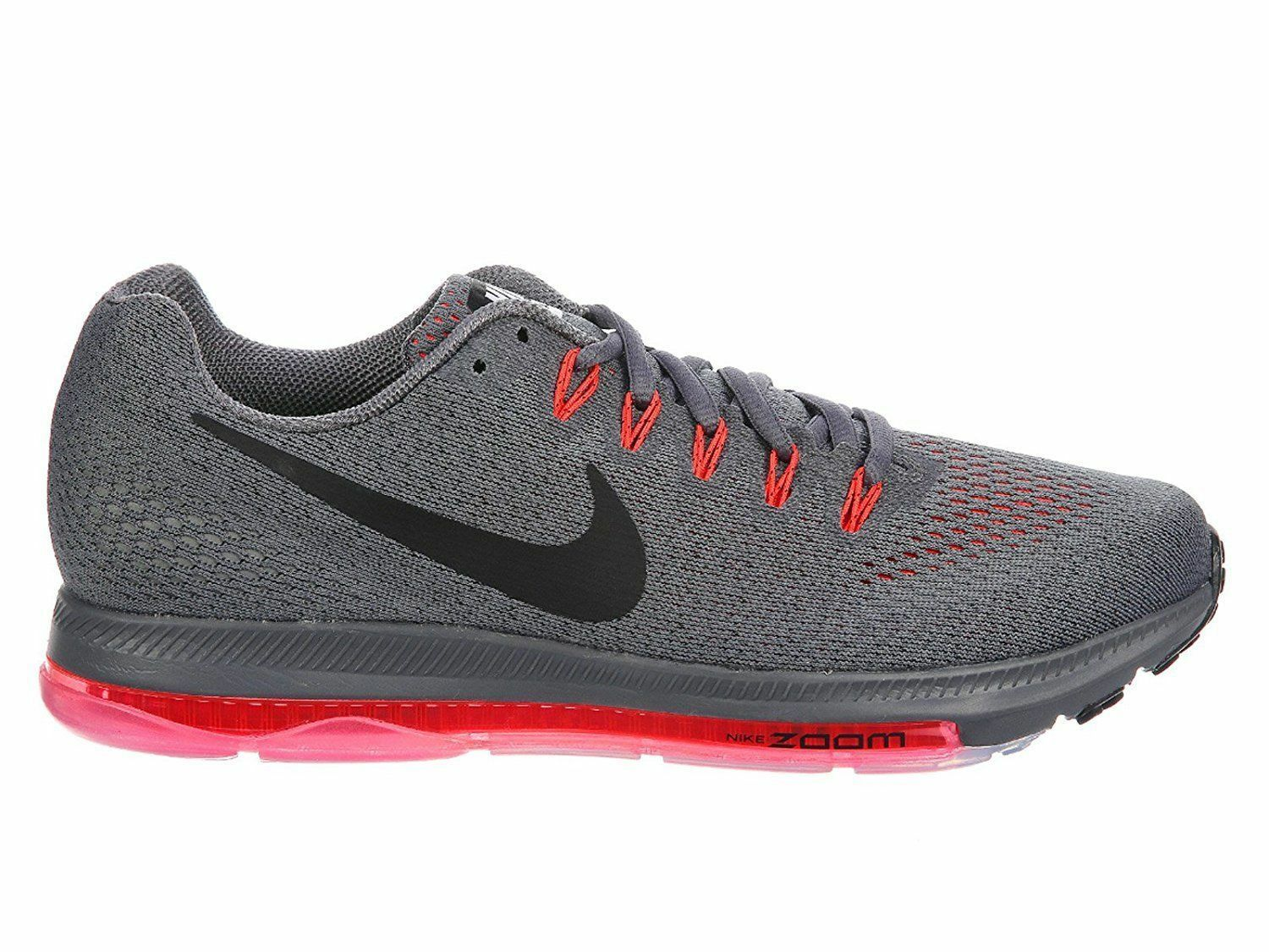 Seasonal clearance sale Nike Zoom All Out Low Men's Running Training Shoes Dark Grey/Black 878670 006