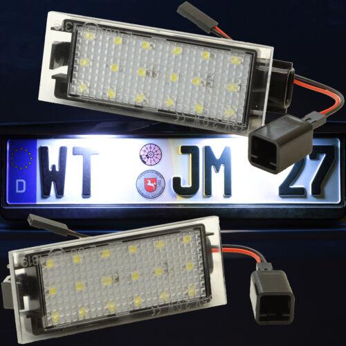 LED Kennzeichenbeleuchtung Nummernschild Nissan für Interstar NV300 NV400 71601
