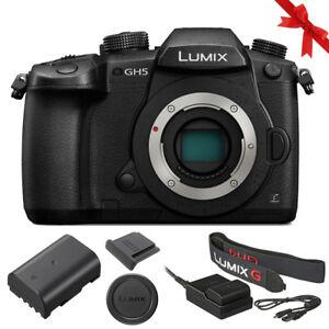 松下 Lumix dc-gh5 無反光鏡微型四個分數碼相機 (僅機身)