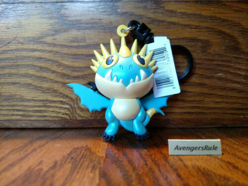 How To Train Your Dragon Collectors Bag Clip 3 Inch Stormfly Closed Mouth
