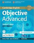 Objective Advanced Student's Book with Answers with CD-ROM with Testbank by Felicity O'Dell, Annie Broadhead (Mixed media product, 2015)