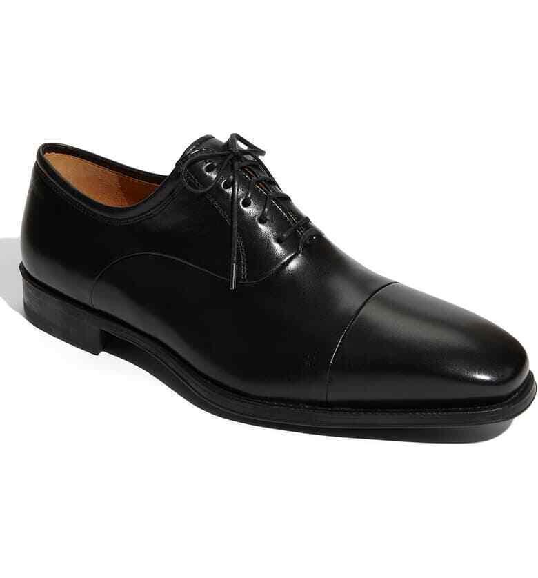 Magnanni Federico Oxford Hombre Cuero Negro Zapatos