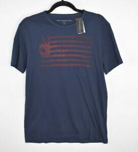 NEW-John-Varvatos-Star-USA-Mens-Peace-America-Flag-Graphic-Print-T-Shirt