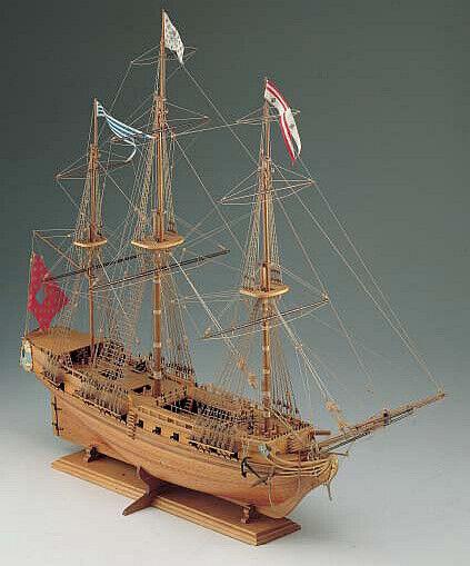 Corel Sirene SM14 kit nave in legno scala 1 75