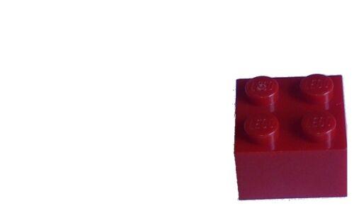 3003 Neu Stein in rot Basicsteine Bausteine City Lego 50 Stück rote Steine 2x2