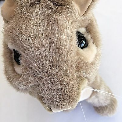 Folkmanis Cottontail Rabbit Hand Puppet Plush Toy Pretend Play 12 x 13 Realistic
