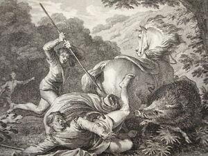 Responsable Gravure Xviiie / Mort De Louis & De Carloman An 882 & 884 Produire Un Effet Vers Une Vision Claire