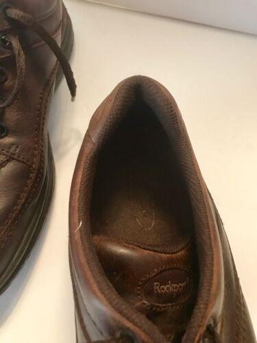 Plain Casual uomo Scarpe Dress M Oxford Toe Brown 5 10 Rockport da 5xwBHH