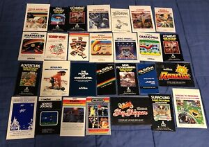 LOT-of-55-Atari-2600-INSTRUCTION-MANUALS-ONLY