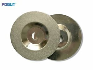 4 inch/100mm Diamond Coated Glass Grinding Disc Wheel For Angle Grinder Grit 150
