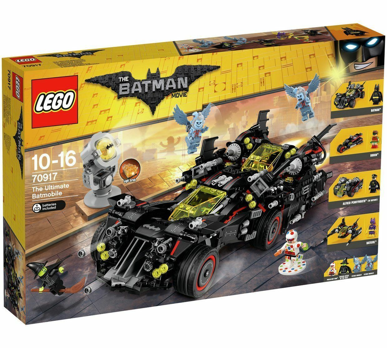 LEGO Batman Movie The Ultimate Batmobile 70917 Brand New & Sealed Trusted Seller