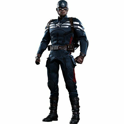 NEW Movie Masterpiece CAPTAIN AMERICA STEALTH SUIT Ver 1 6 Figure Hot Toys