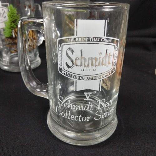 Schmidt Beer Collector 1st Series Mugs Pitcher Wildlife animal hunter glasses