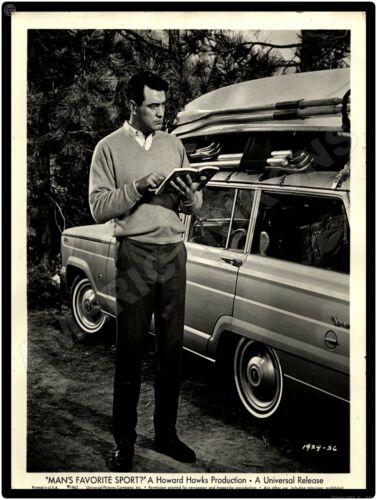 Man/'s Favorite Sport Movie Wagoneer Rock Hudson 1963 Jeep New Metal Sign