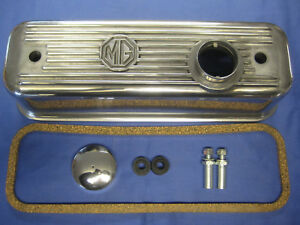 Details about MG NEW MGB ROADSTER / GT B SERIES ALLOY ROCKER COVER KIT ***
