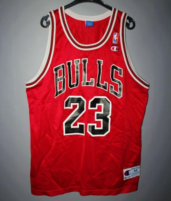 031f44be4f44ad VINTAGE NBA CHICAGO BULLS BASKETBALL JERSEY CHAMPION  23 MICHAEL JORDAN SIZE  44