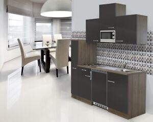 Cucina Angolo Cottura Singola Incasso Blocco 180 Cm Rovere York ...