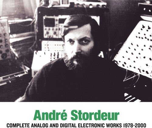 Andre Stordeur - Complete Analog & Digital Electronic Music 1978-00 [New CD]