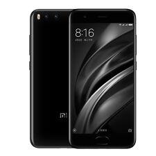 New Xiaomi Mi 6 Dual SIM 4G LTE Unlocked Smartphone - 6GB RAM+64GB - Black