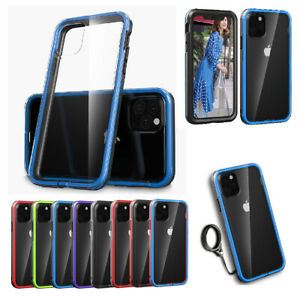 For-iPhone-11-11-Pro-Max-2019-Rugged-Armor-Case-Hybrid-Clear-Shockproof-Cover