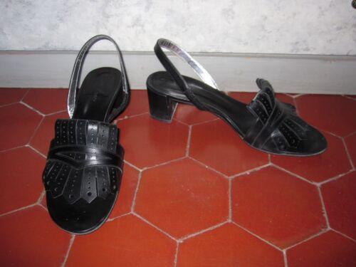 39 8 5 F Noir Tttbe I 6 Sandales 40 Free Us Taille Uk Lance cnqWTF0v7
