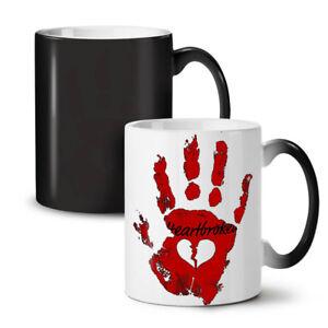 Heart Break Cool NEW Colour Changing Tea Coffee Mug 11 oz | Wellcoda