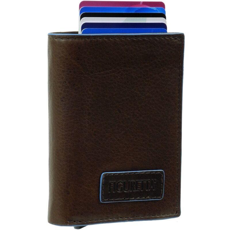 Multifunktion Leder Geldbörse Kreditkartenetui Brieftasche Passport Paket RFID
