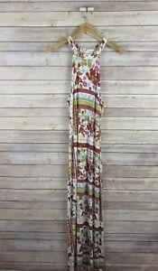 H-amp-M-COACHELLA-Collection-Women-039-s-Super-Soft-Sleeveless-Maxi-Dress-SIZE-6-Floral