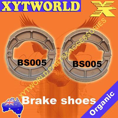 FRONT REAR Brake Shoes SUZUKI RM 125 M A B C 1975 1976 1977 1978