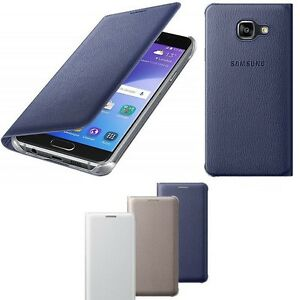superior quality 6424a 2b30a Details about Genuine Samsung FLIP CASE GALAXY A3 6 smart phone cover  original sm a310 f pouch