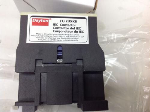 Dayton 2UXK8 IEC Contactor 3 Pole 18A Coil 24VAC NIB