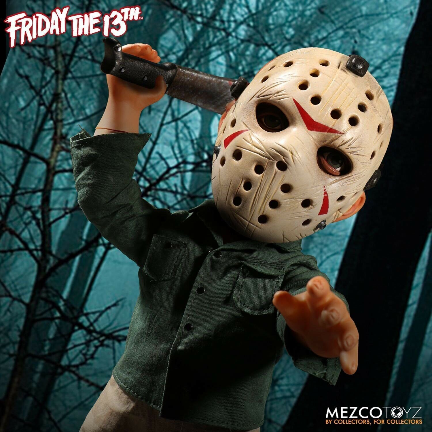"""Friday the 13th  15"""" Mega Jason Figure with Sound from Mezco Toys"""