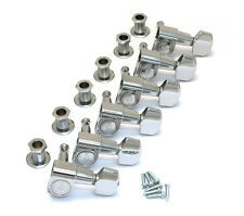 Schaller Chrome 6 Inline M6 Mini Sealed Tuners Strat/Tele® Guitar TK-0960-010
