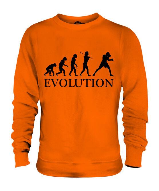 BOXEN EVOLUTION EVOLUTION EVOLUTION DES MENSCHEN UNISEX SWEATER PULLOVER PULLI HERREN DAMEN    Vogue    Praktisch Und Wirtschaftlich    eine große Vielfalt  3c2ceb