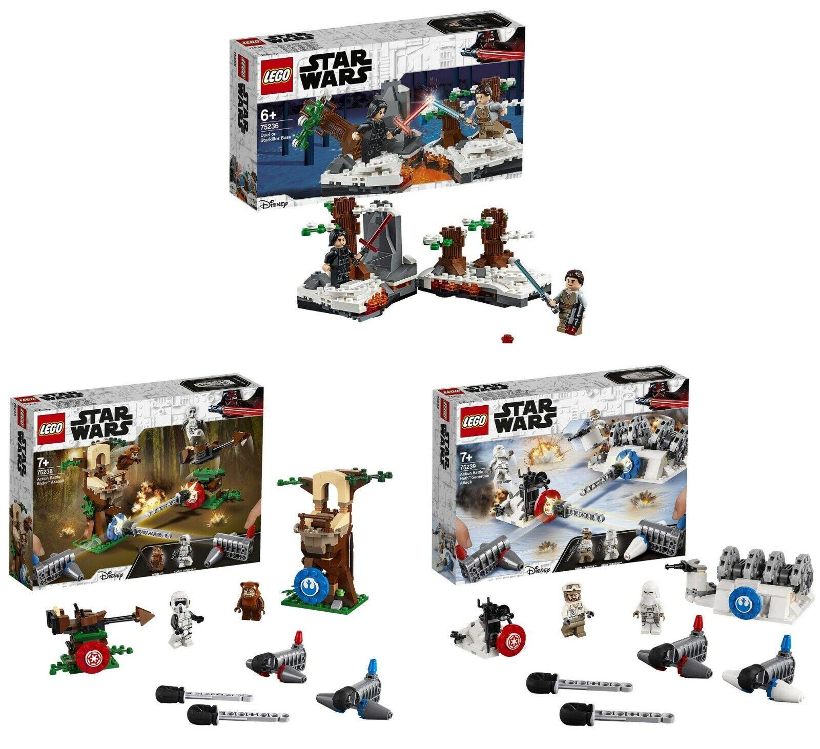 LEGO® Star Wars™ 75236 + 75238 und 75239 Star Wars™ 3-ER SET NEU & OVP