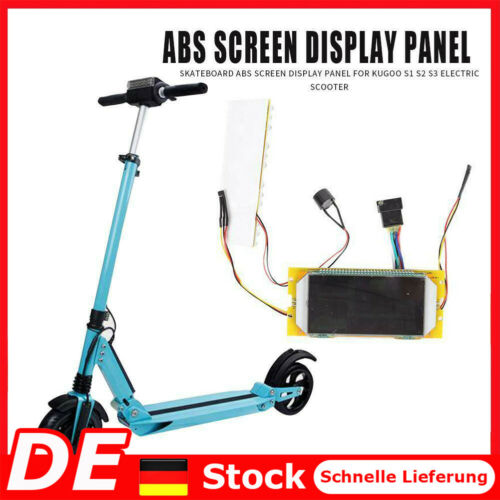 Electric Scooter Display Screen Skateboard Accessories for Kugoo S1 S2 S3 DE