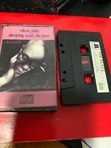 ELTON-JOHN-Sleeping-With-The-Past-Michael-1723-Cassette-Tape-Rare