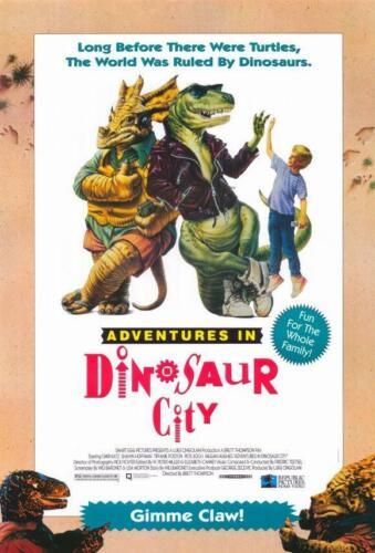 Adventures in Dinosaur City 11x17 Movie Poster 1992